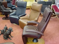 Ribble Valley Recliners showroom Clitheroe, Lancashire.