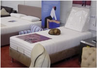 Our showroom - Komfi beds on display